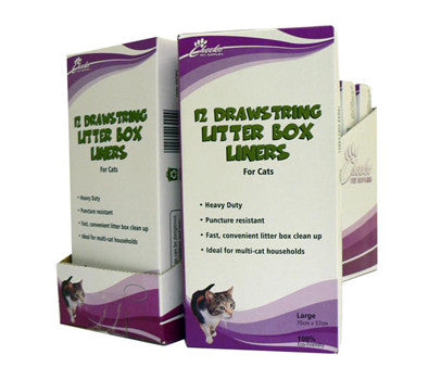 CHEEKO LITTER BOX LINER LARGE D'STRING