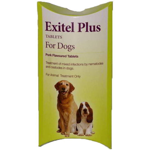 Exitel Plus Worming Tablet