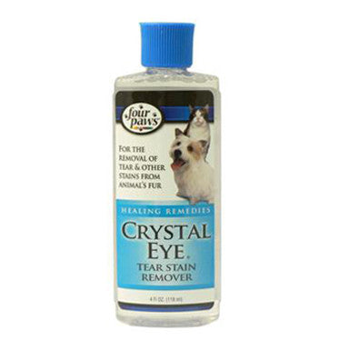 FOUR PAWS CRYSTAL EYE TEAR STAIN REMOVER 4OZ