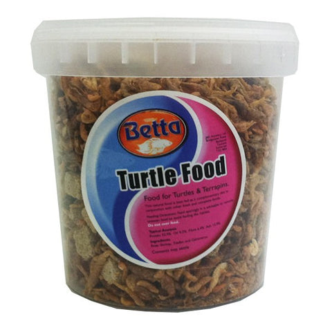 BETTA TURTLE FOOD 1000ML