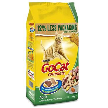 Go Cat Adult Rabbit/Turkey/Vegetables 2kg
