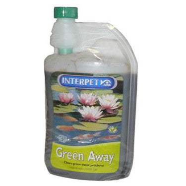 INTERPET GREEN AWAY 1 LITRE