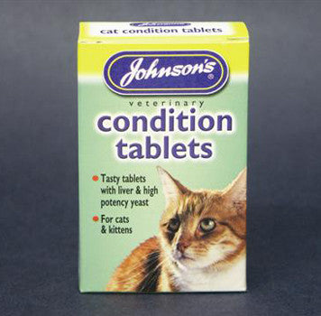 JOHNSONS CAT CONDITION TABLETS 30 TABS