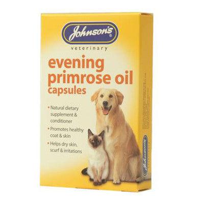 JOHNSONS EVENING PRIM OIL CAPSULES (60) DOG CAT