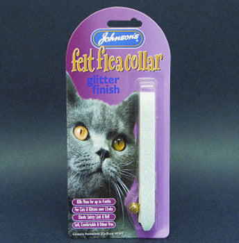 JOHNSONS GLITTER CAT FLEA COLLAR