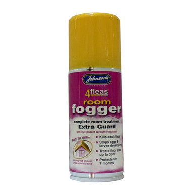 JOHNSONS 4 FLEAS ROOM FOGGER SPRAY 100ML