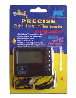 DIGITAL THERMOMETER AND ALARM