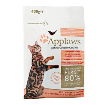 APPLAWS ADULT CAT SALMON 400G