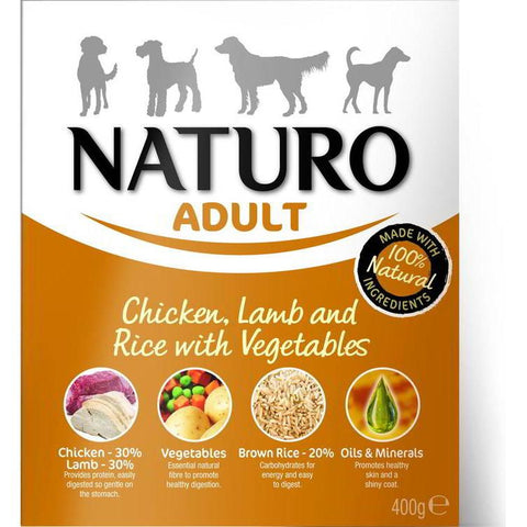 Naturo Adult Wet Chicken & Rice