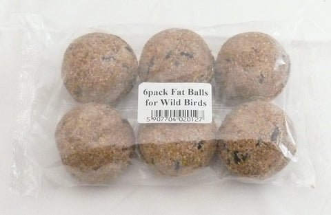 Wildbird Fat Balls 6pk