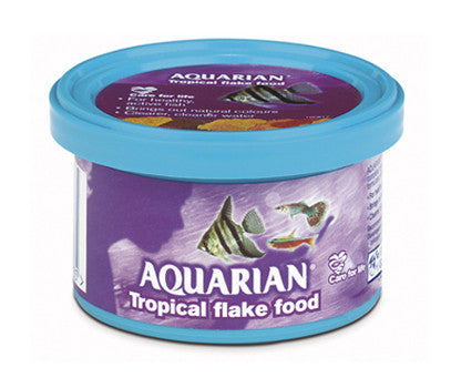 AQUARIAN TROPICAL FISH FOOD 13GM