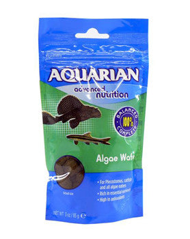 AQUARIAN ALGAE WAFER 85GM