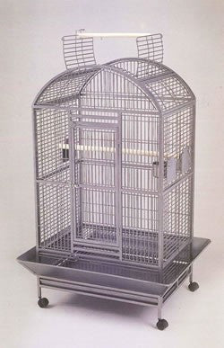 OPEN TOP ANTIQUE CAGE (2 PARTS)