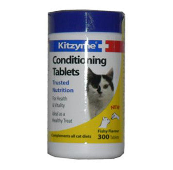 KITZYME CAT CONDITIONING TABLETS 300'S