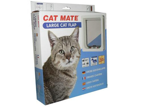 Petmate Large Cat Flap - White