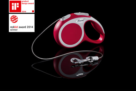 Flexi Vario Cord Red Small 8m