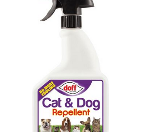 Doff Cat & Dog Repellent Spray 1l