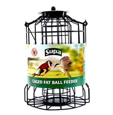 SUPA WILD BIRD CAGED FAT BALL FEEDERS