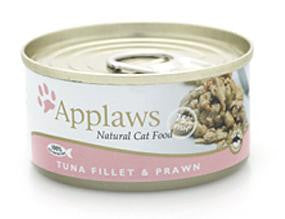 APPLAWS TUNA & PRAWN 70GM CAT FOOD