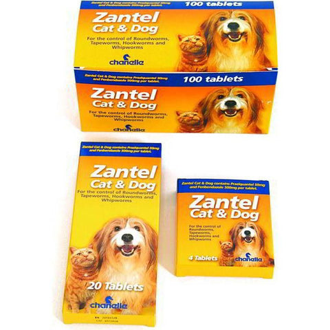Zantel Woming Tablets