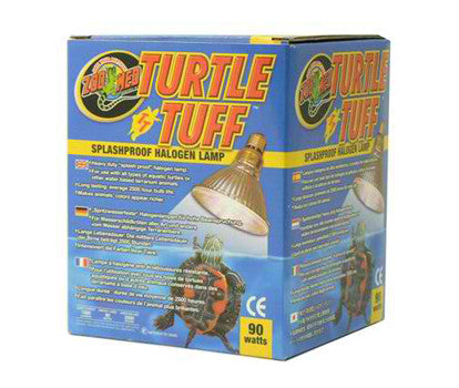 ZOOMED TURTLE TUFF HALOGEN LAMP T10 90W