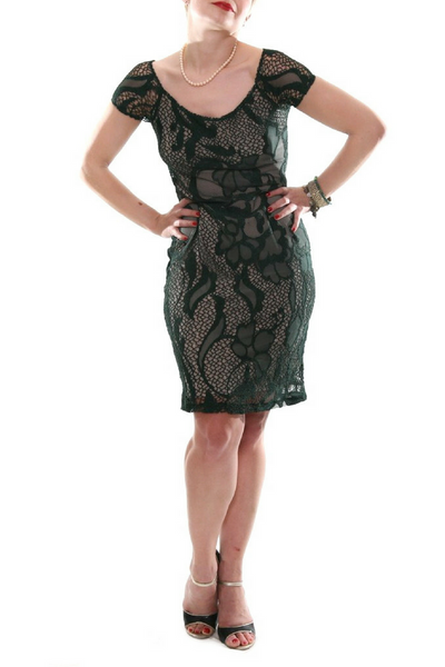 guipure lace dress by conDiva