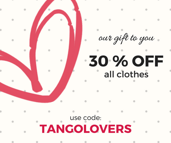 tango clothes on sale