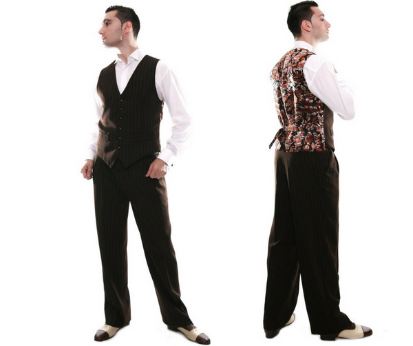 men's tango pants and vests