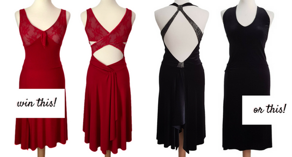 tango dress giveaway