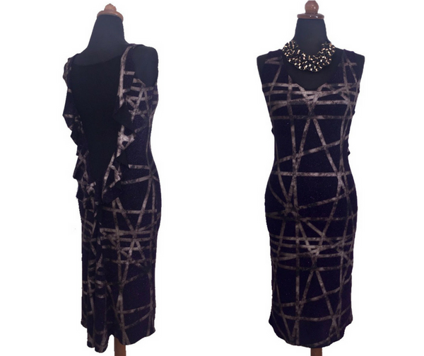 chic argentine tango dress
