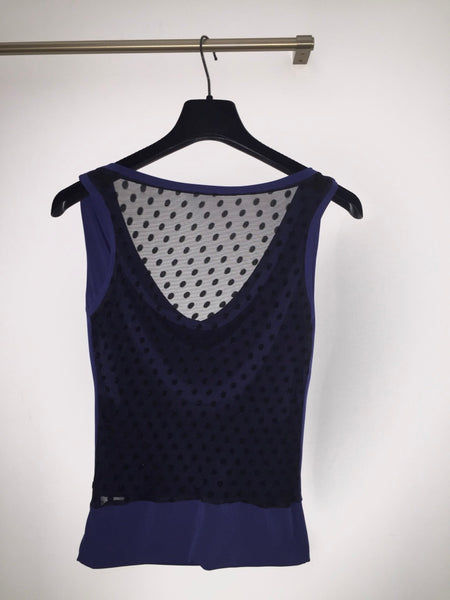 dark blue tango top by conDiva
