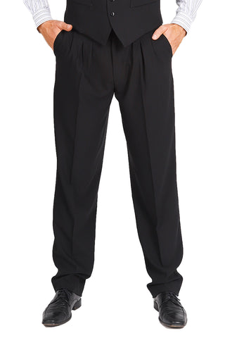 conSignore Men's Black Tango Pants