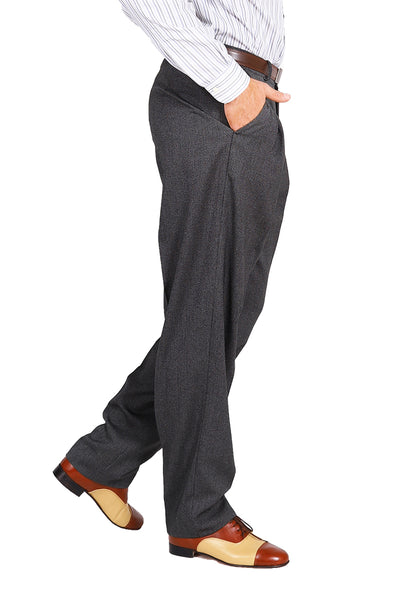 conSignore Men's Dark Gray Tango Pants