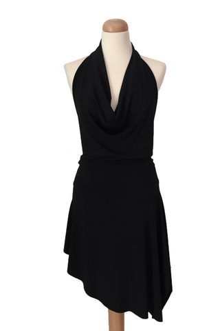 Mini Asymmetric Dance Dress