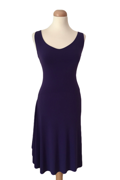 Tango Dress with Right Side Draping