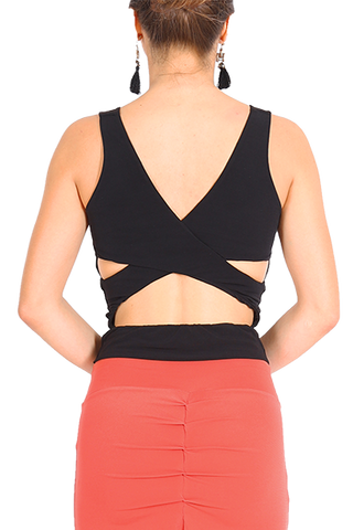 Tango Top with Crisscross Back
