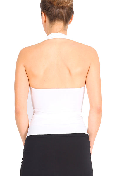 Halter-neck Tango Top With Ruched Details