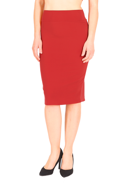 Red Tango Skirt with Small Tail