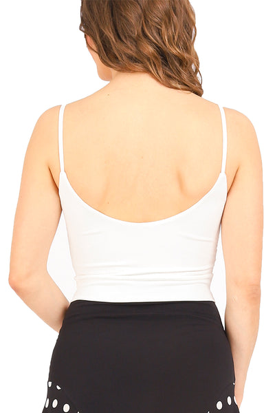 Tango Top With Front Knot - off white