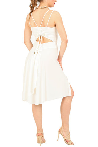 Tango Dress With Back Draping