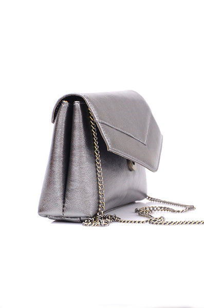 Small Charcoal Shoulder Bag