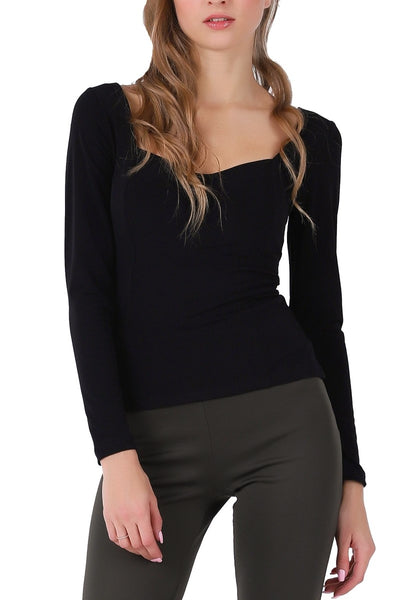Tango Top With Long Sleeves