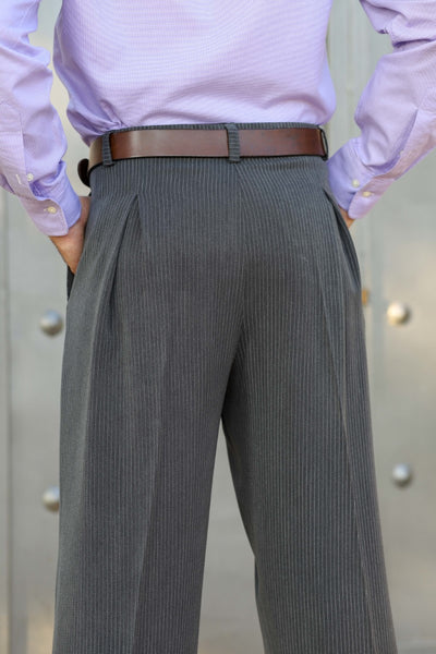 conSignore Striped Dark Gray Tango Pants