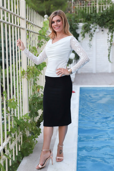 Pencil Skirt For Milonga And Everyday Looks