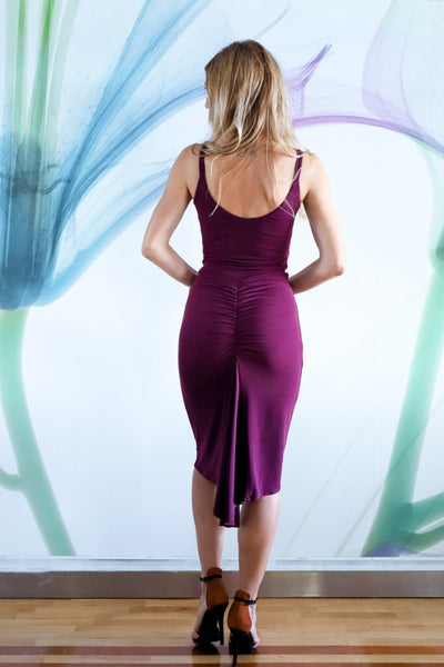 Fishtail Tango Dress With Front Knot