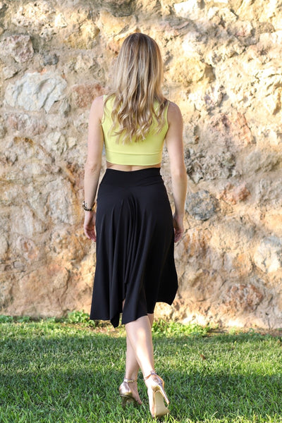 Tango Skirt With Back Movement