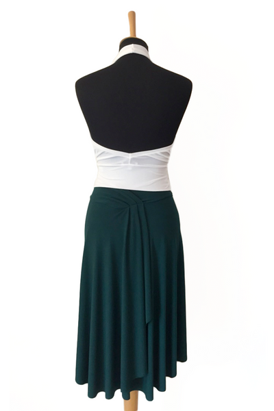 Tango Skirt with Back Draping