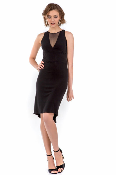 Melany Fishtail Tango Dress