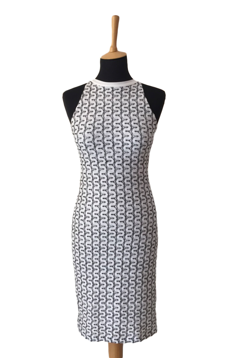 Woven Cocktail Dress