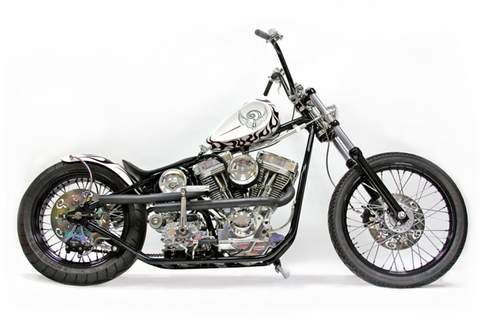White Devil Indian Larry Motorcycles